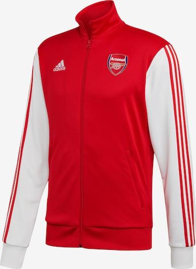ADIDAS PERFORMANCE Trainingsjacke 'FC Arsena' in blau / rot / naturweiß, Produktansicht