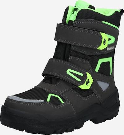 Sniego batai 'KASPAR-SYMPATEX' iš LURCHI , spalva - neoninė žalia / juoda, Prekių apžvalga