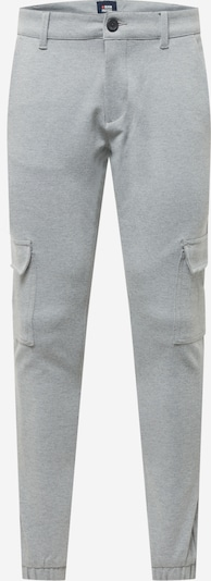 Denim Project Pantalon cargo 'Ponte' en gris chiné, Vue avec produit