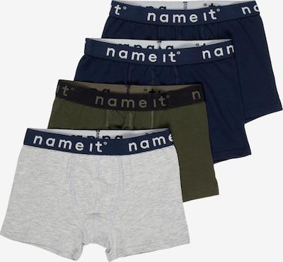 NAME IT Onderbroek in de kleur Navy / Donkerblauw / Lichtgrijs / Olijfgroen / Wit, Productweergave