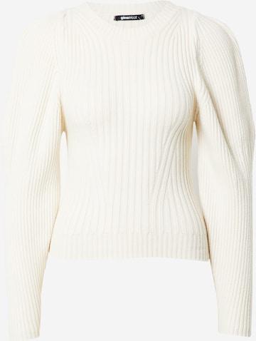 Gina Tricot Sweter 'Camille' w kolorze biały