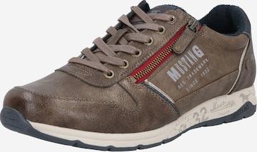 Sneaker bassa di MUSTANG in marrone