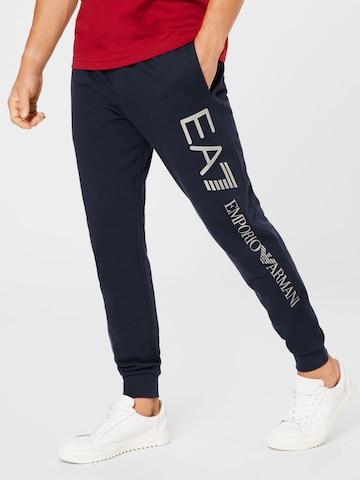 Pantaloni di EA7 Emporio Armani in blu