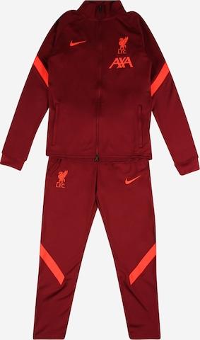 Costum de trening 'Liverpool FC Strike' de la NIKE pe roșu