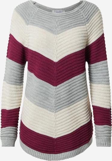 ZABAIONE Jersey 'Fabia' en gris / lila / blanco, Vista del producto