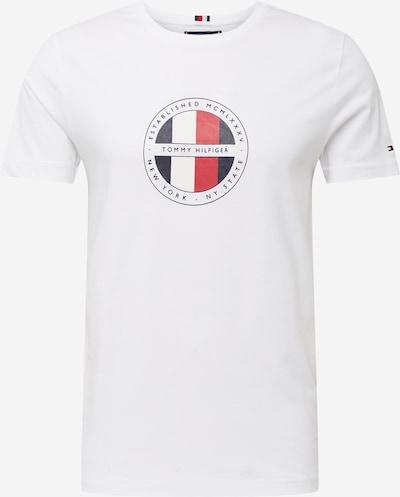 TOMMY HILFIGER T-Shirt in kobaltblau / rot / schwarz / weiß, Produktansicht