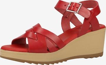 KICKERS Sandale in Rot