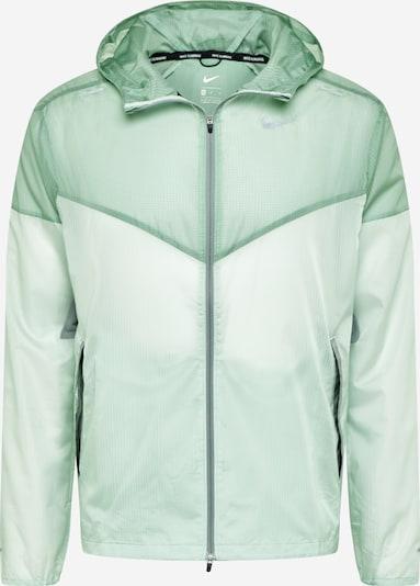 NIKE Sportjas in de kleur Lichtgroen / Donkergroen, Productweergave