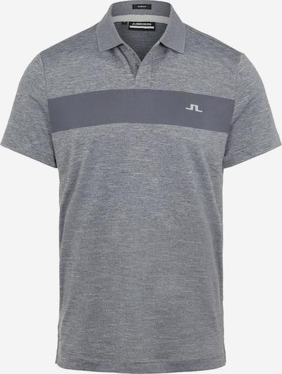 J.Lindeberg Poloshirt in grau, Produktansicht