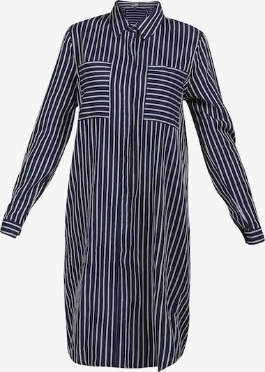 DreiMaster Vintage Kleid in navy / weiß, Produktansicht