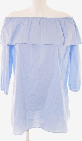 ROCKAMORA schulterfreies Kleid in S in Blau
