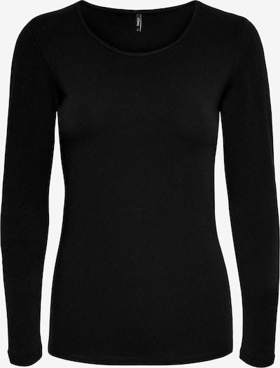 ONLY T-shirt i svart, Produktvy