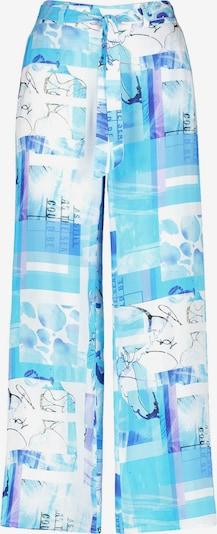 TAIFUN Palazzohose mit Print in blau / hellblau / weiß, Produktansicht