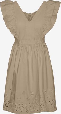 Vero Moda Petite Cocktail Dress 'Lisa' in Brown