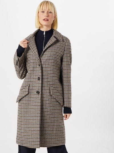 DRYKORN Manteau mi-saison 'Salisburg' en bleu / marron, Vue avec modèle
