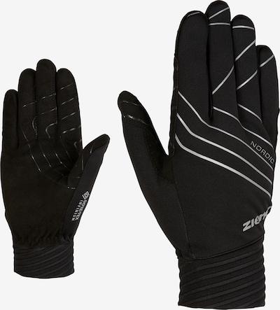 ZIENER Langlaufhandschuhe 'UGO GTX INF' in schwarz, Produktansicht