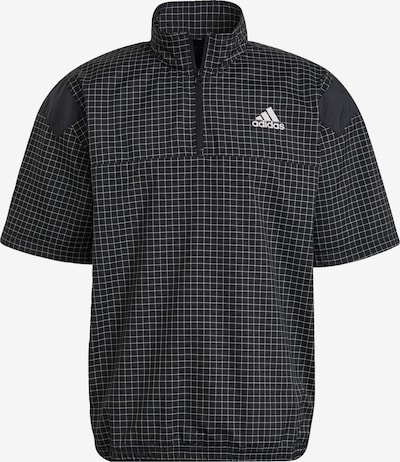 ADIDAS PERFORMANCE Functioneel shirt in de kleur Zwart / Wit, Productweergave