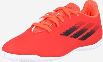 ADIDAS PERFORMANCE Spordijalats 'X Speedflow.4', värv punane