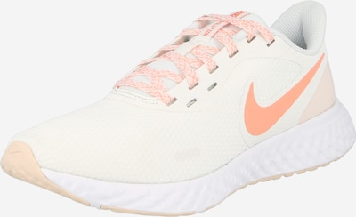 NIKE Loopschoen 'Revolution 5 W' in de kleur Zalm roze / Wit, Productweergave