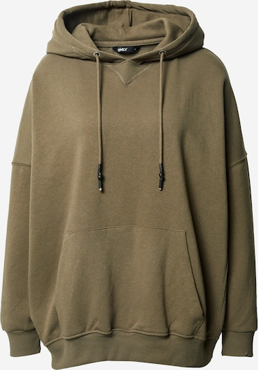 ONLY Sweatshirt in khaki, Produktansicht