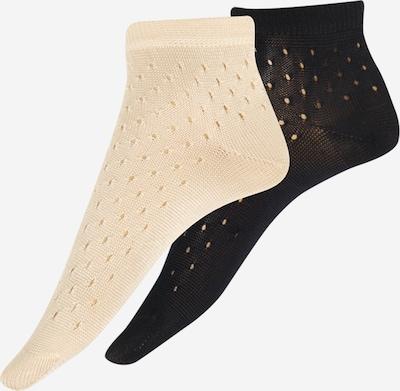 BeckSöndergaard Socken in beige / schwarz, Produktansicht