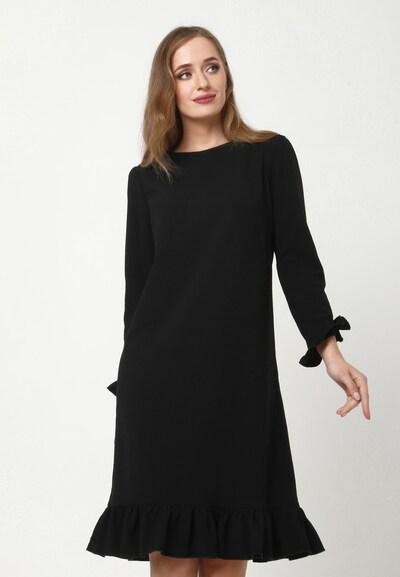 Madam-T Kleid 'GREKKA' in schwarz, Modelansicht