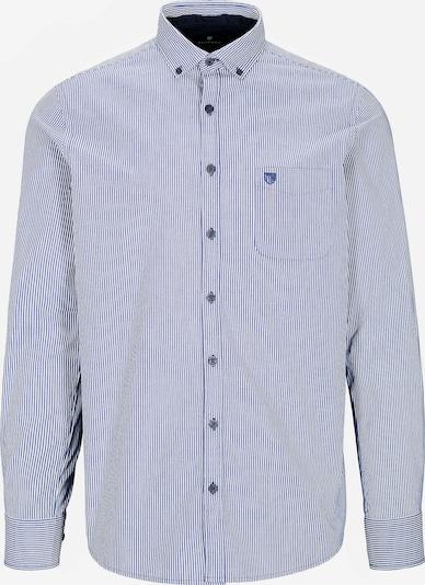 BASEFIELD Hemd in himmelblau / weiß, Produktansicht
