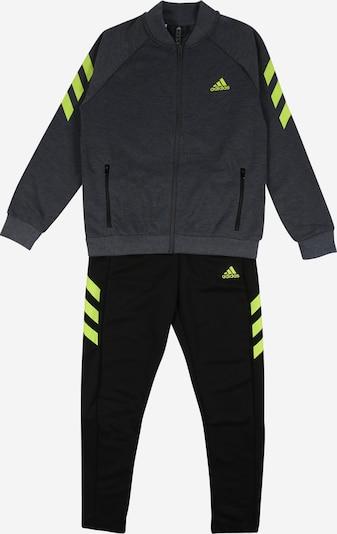 ADIDAS PERFORMANCE Sportpak in de kleur Neongeel / Grijs / Zwart, Productweergave