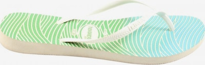 HAVAIANAS Dianette-Sandalen in 37 in blau / grün / weiß, Produktansicht
