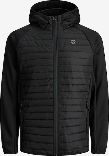 Giacca invernale Jack & Jones Plus di colore nero / bianco, Visualizzazione prodotti