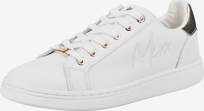 MEXX Sneaker 'Eeke' in gold / weiß, Produktansicht