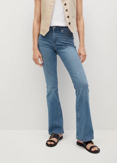 Jeans MANGO pe albastru denim, Vizualizare model