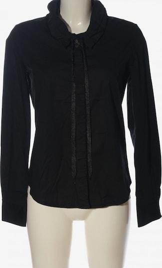 Marithé + François Girbaud Langarm-Bluse in S in schwarz, Produktansicht