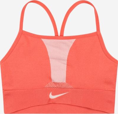 NIKE Sous-vêtements de sport en saumon / blanc, Vue avec produit