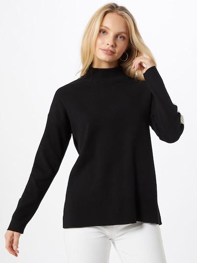 Key Largo Pullover 'Grace ' in schwarz / weiß, Modelansicht