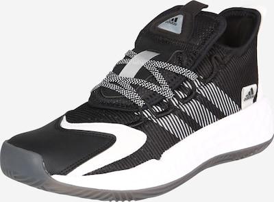 Sportiniai batai iš ADIDAS PERFORMANCE , spalva - pilka / juoda / balta, Prekių apžvalga
