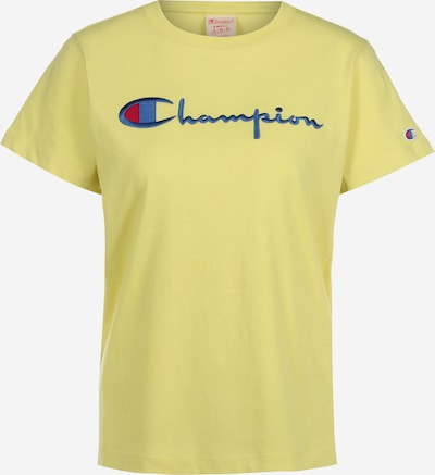 Champion Authentic Athletic Apparel T-Shirt in gelb, Produktansicht