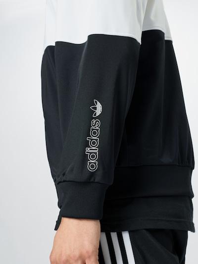 ADIDAS ORIGINALS Sweatjacke in schwarz weiß   ABOUT YOU