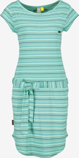 Alife and Kickin Kleid 'Thea' in hellblau / dunkelblau / grau / jade / weiß, Produktansicht