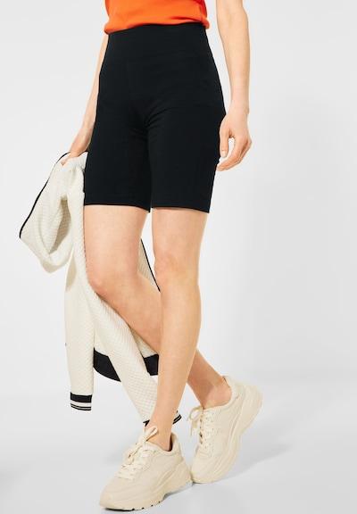 CECIL Leggings in schwarz, Modelansicht