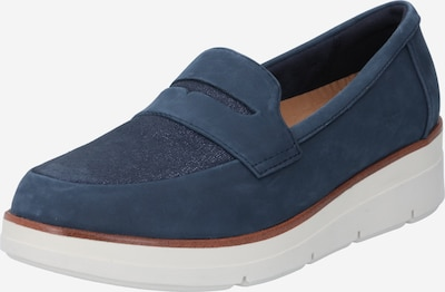 CLARKS Slip-on 'Shaylin Step' in Navy, Item view