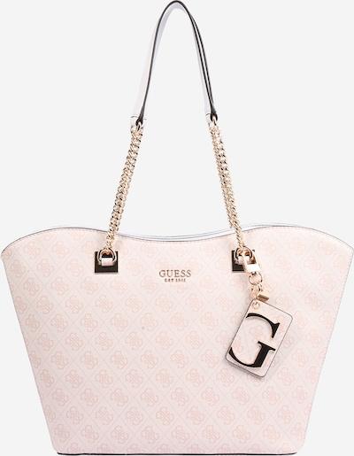 GUESS Shopper 'MIKA' in rosa / offwhite, Produktansicht