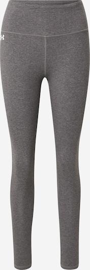 UNDER ARMOUR Sportbroek in de kleur Grijs gemêleerd / Wit, Productweergave