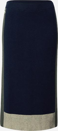 LACOSTE Jupe en bleu marine / olive / blanc, Vue avec produit
