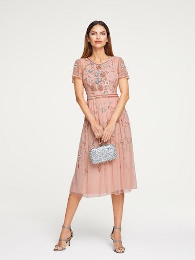 heine Kleid in rosa / silber / weiß, Modelansicht