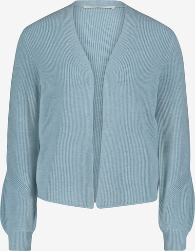 Betty & Co Strick-Cardigan mit Strickdetails in blau, Produktansicht