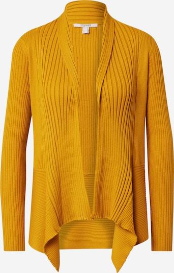 sárga ESPRIT Kardigán 'Rib', Termék nézet