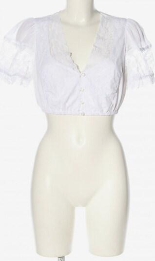 Lodenfrey Trachtenbluse in M in weiß, Produktansicht