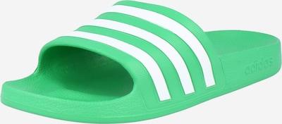 ADIDAS PERFORMANCE Zapatos para playa y agua 'ADILETTE' en verde, Vista del producto