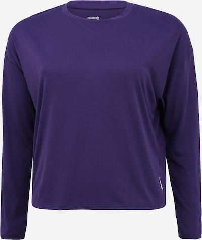 Reebok Sport Camiseta funcional en lila oscuro / blanco, Vista del producto